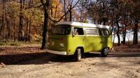 Bus in Fall
