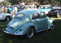 VW Bug Oval 1957