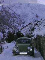 vw 1200 on snow