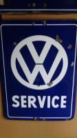 VW dealer signs