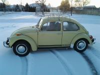 Hitest's '71 shantung beetle on snow day