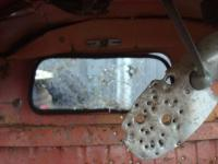 bullet holes in a 61 single cab