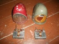pre 50 and post 4/50 pope´s nose and different HELLA bulbholders
