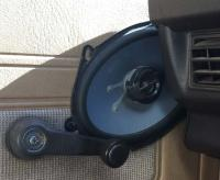 Vanagon door oval speakers