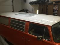 1972 Tin top Westy conversion to Pop top