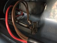 Interior cab light wiring