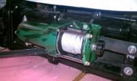 HF Winch mounted on beam