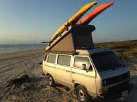 Thanksgiving morning with the Vanagon.