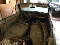 68 Convertible garaged for 30 years - Barnfind