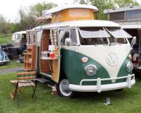 volkswagens on the green