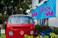 Christine Bay Window Bus DJ Bus