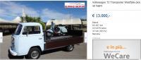 Westfalia wood pickup for sale in Italy in 2016