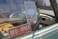 Buses-N-Brews at Red Brick Brewery, 8 Oct 2016