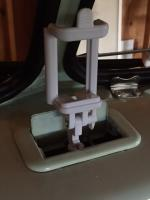 Cell Phone Mount Idea, 65 Microbus