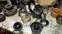 Broken Slave cylinder