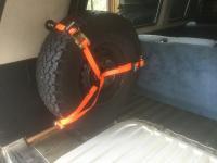 Spare wheel Inside