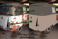 1950 original's bus colors