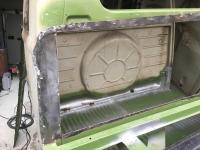 1967 Crew Cab Kolumbus bulk head panel