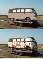 1950 bus's colors