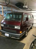CL red vanagon - 1988 tintop Bellingham WA $2800 non running