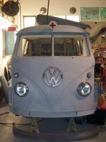 1956 Wolfsburg ambulance front