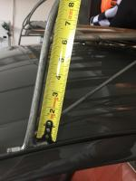 Roof rack measurements