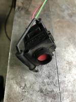 Impact fuel pump shutdown switch