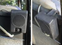 DRIVE-IN SPEAKERS IN A BUS!
