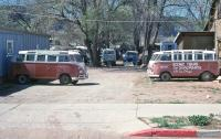 Canyonlands tour buses