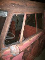 1960 Panel Van Rust