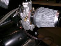 Dual Motorcycle Carburetors