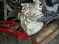 411 W code engine A/C compressor