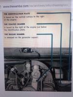 1957 split panel M code ID