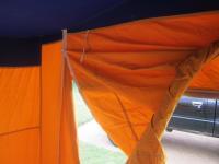1968 Neptune Blue Irish Westfalia side tent