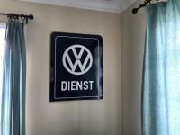 Original Porcelain VW Dealer Sign