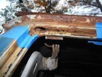 Rear hatch repairs