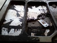 Cargo Door Clean Up