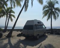 van in Hawaii