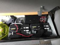 Aux batteries under bench seat