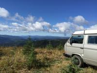 Off roading on Monashee mountain