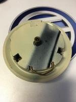 Batwing Horn Button