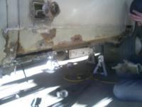 ex-adventure wagon rust repair