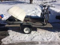 Cargo trailer mock up