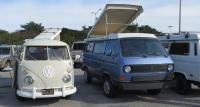 """The Toaster"" (1967 Westfalia) at ""Burning Van"" San Francisco, CA 1/29/2017"