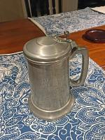 Rare Pewter Beer Stein