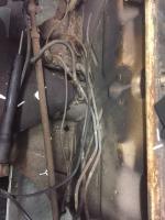 Under the gast tank