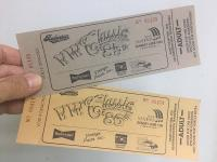 V.W. Classic Tickets