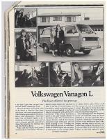 C/D Vanagon Review