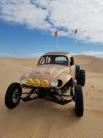 Ecotec Baja bug at Glamis