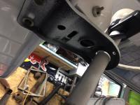 Steering column photo